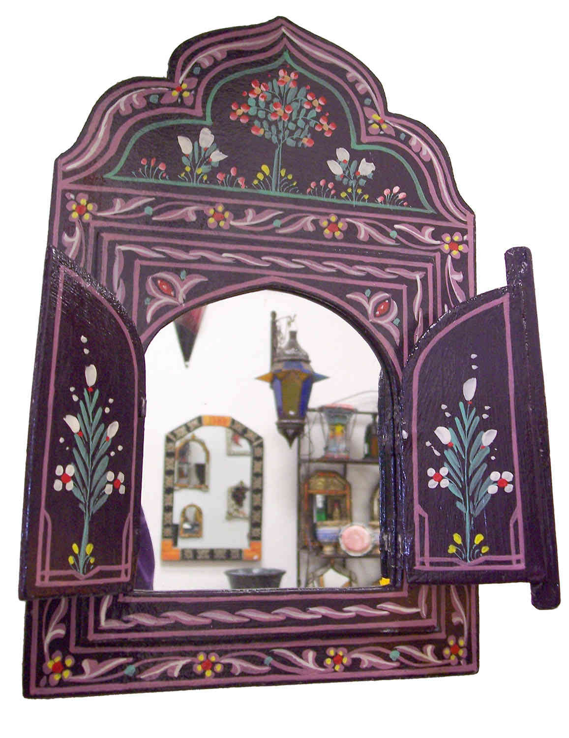 Wood Moorish Mirrors