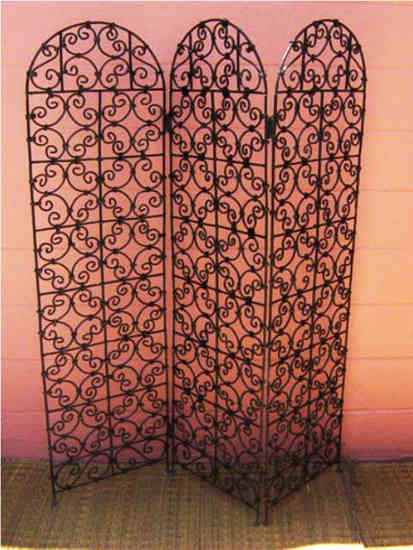 Wrought Iron Screens